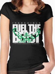 Fuel The Beast (Inkredible Performance Labs) Women's Fitted Scoop T-Shirt