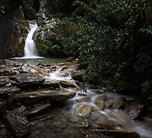 Sheperds Hut Falls by Brad Grove