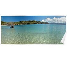 Cats eye Bay Hamilton Island Poster