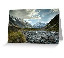 Hooker Valley #2 Greeting Card