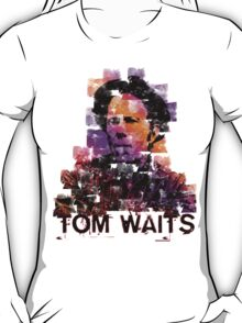 Tom Waits Watercolour T-Shirt