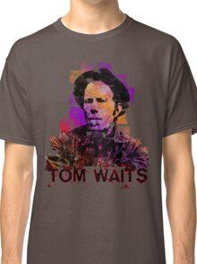 Tom Waits Watercolour Classic T-Shirt