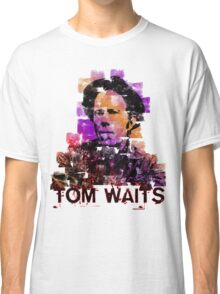 Tom Waits Watercolour Classic T-Shirt