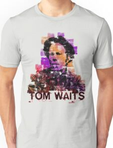 Tom Waits Watercolour Unisex T-Shirt