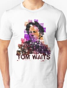 Tom Waits Watercolour Unisex T-Shirt