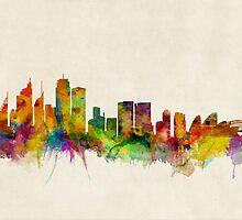 Sydney Skyline by Michael Tompsett