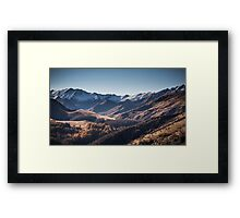 Shades of Skippers Framed Print