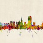 San Francisco City Skyline by ArtPrints