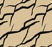 Rock formation pattern by CClaesonDesign