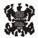 rorschach save us! by oliviero