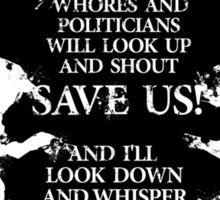 rorschach save us! Sticker