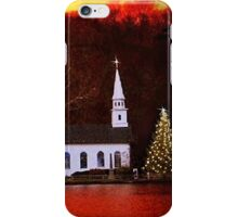 Christmas in Cold Spring Harbor New York iPhone Case/Skin