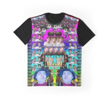 Ferret collage Graphic T-Shirt