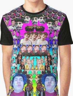 Ferret collage Graphic T-Shirt