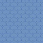 Blue Swirl Pattern by DistilledD
