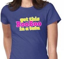 Boo Boo in a tutu Womens Fitted T-Shirt