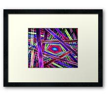 Behold Pentagon Matrix Framed Print