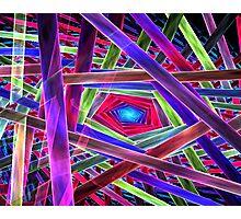 Behold Pentagon Matrix Photographic Print