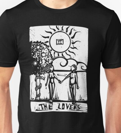 The Lovers - Tarot Cards - Major Arcana Unisex T-Shirt