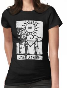 The Lovers - Tarot Cards - Major Arcana Womens Fitted T-Shirt