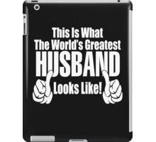 THE WORLD'S GREATEST HUSBAND iPad Case/Skin