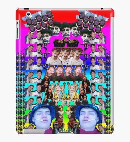 Ferret collage iPad Case/Skin
