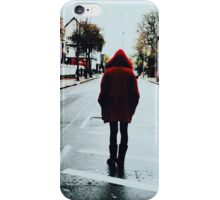 Little Red Ridding Hood in London iPhone Case/Skin