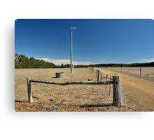 rural infrastructure Canvas Print