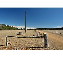 rural infrastructure Photographic Print