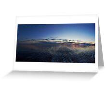 Leaving Lofoten Greeting Card