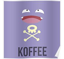 Koffing Koffee (Pokemon) Poster