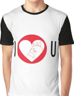 I Love You Totoro Graphic T-Shirt