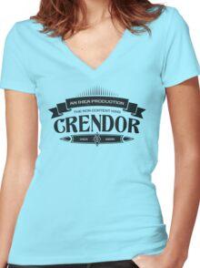 Wowcrendor - Premium Fan T-Shirt Women's Fitted V-Neck T-Shirt