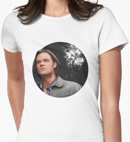 Sam Winchester Womens Fitted T-Shirt
