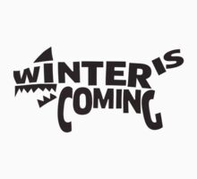 House Stark, Winter Is Coming Kids Clothes