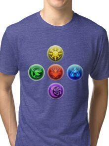 5 Elements Tri-blend T-Shirt