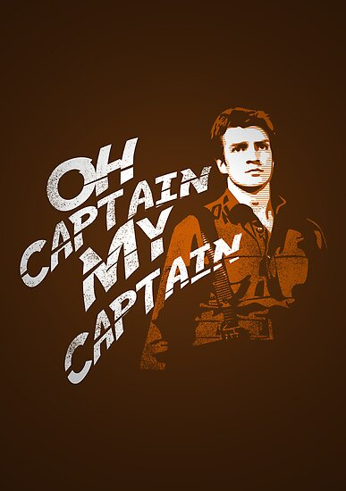 Oh Captain My Captain by Hume Creative