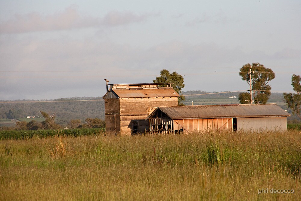 Australia Station Barn  by phil decocco
