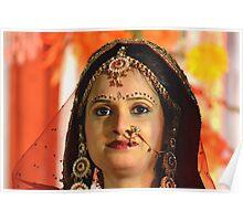 Indian bride Poster