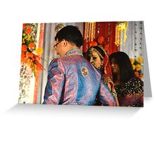 Wedding in India Greeting Card
