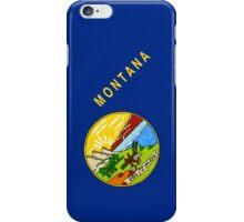 Smartphone Case - State Flag of Montana - Diagonal II iPhone Case/Skin