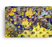 In the World of DOTS, the Breakaway Dots are Known as the AUNT Dots Canvas Print