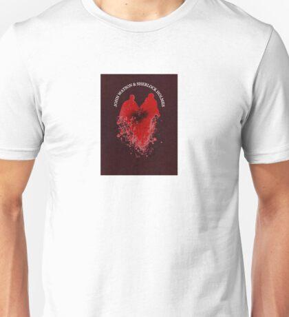 Sherlock & John (With words- Small) Unisex T-Shirt