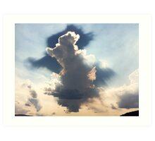 Cloud Shadow Art Print