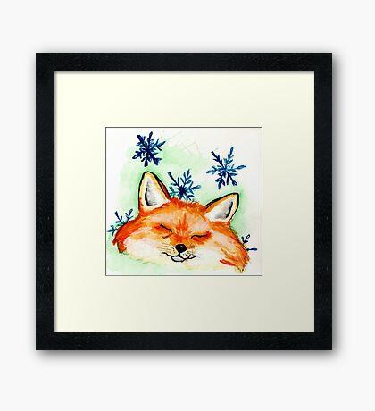 Winter Dream Framed Print