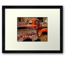 Rusty and Dusty Framed Print