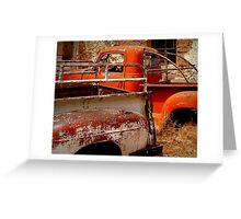 Rusty and Dusty Greeting Card
