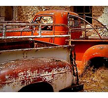 Rusty and Dusty Photographic Print