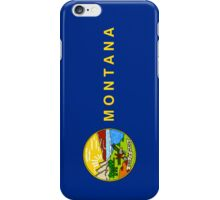Smartphone Case - State Flag of Montana - Vertical II iPhone Case/Skin