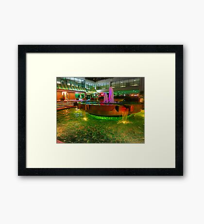 Opera Plaza Framed Print